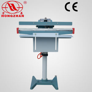 Automatic Pedal Sealing Machine Foot Sealer with Electric Magnetic and Pneumatic Code Printer pictures & photos