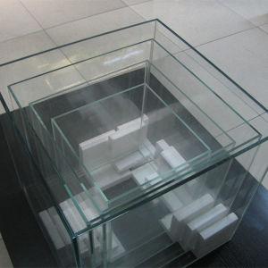 3 in 1 Curved Glass Aquarium Kit, Round Glass Aquarium pictures & photos