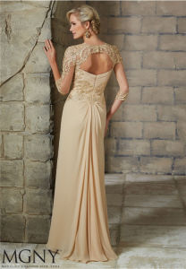 A Line Sheath Long Party Evening Prom Dress, Customized pictures & photos