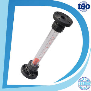 Lzs Acrylic Tube Type ABS or PVC Fitting Flow Meter pictures & photos