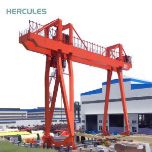 China Manufacturer 32t Double Girder Gantry Crane pictures & photos