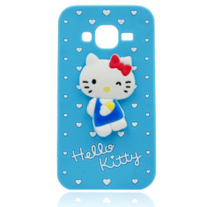 Hello Kitty Silicone Phone Case for iPhone 6 7 7plus Samsung J5 J7 Cell Phone Accessories (XSK-002) pictures & photos