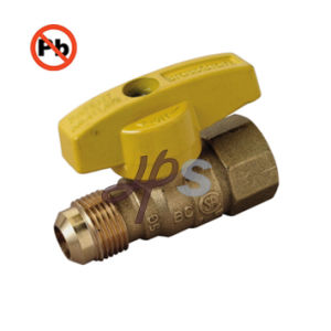Low Lead Material Brass Gas Ball Valve for USA Market pictures & photos