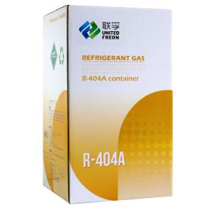 High Purity Gas Refrigerant R404A with ISO9001certification for Air Conditioner 30lb