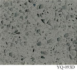 Artifical Quartz / Grey Slabs/Kitchen&Bath (YQ-093D) pictures & photos