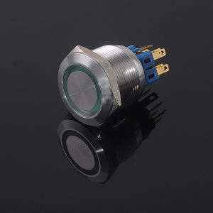 CE RoHS 25mm Push Button Switch (GQ25 Series)