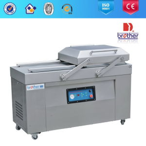 Double Chamber Automatic Busch Vacuum Pump Vacuum Packing Machine pictures & photos