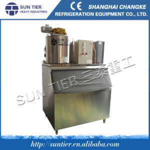 Fresh Water Flake Ice Machine for Marine Frozen Fish pictures & photos