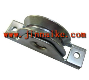 Adjustable Gate Wheel with Interior Bracket (Single Bearing, Y groove) pictures & photos