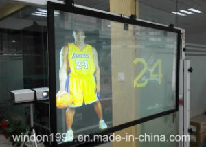 3D Holographic Display Projection Film, Transparent Rear Screen Film pictures & photos