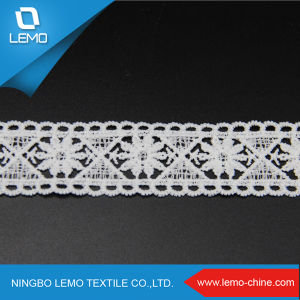 100% Cotton Material High Quality Swiss Voile Lace pictures & photos