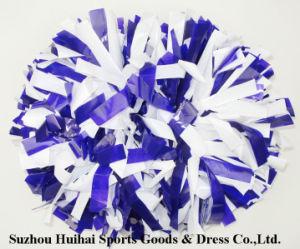 Purple Mix White POM POM pictures & photos