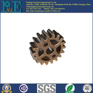 Customized Copper Casting Auto Gear Parts pictures & photos