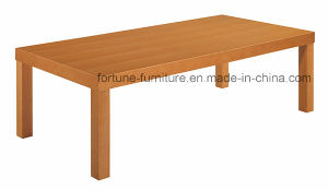 Simple Wooden Veneer Laminated Coffee Table Lt1260-Br (two colors) pictures & photos