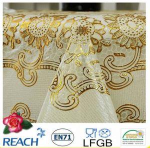 PVC Lace Tablecloth Round 180cm pictures & photos