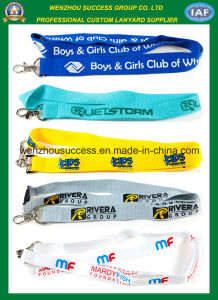 High Quality Custom Printed Polyster Neck Lanyard pictures & photos