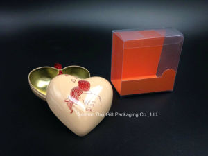 Romantic Heart-Shaped Package Tin Box for Gift pictures & photos