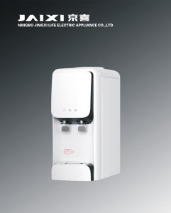 Hot and Cold Desktop Water Dispenser with Electric Cooling