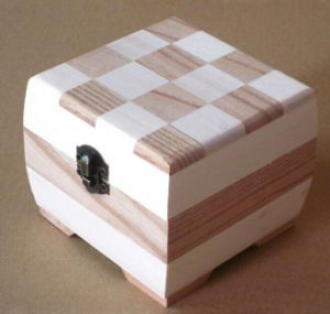 Wood Jewelry Box Sweet Wooden Storage Box Gift Box Set pictures & photos