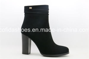 16fw Trendy Sexy High Heels Women Boots pictures & photos