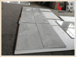 Asher White Marble Tile for Flooring and Wall Tile pictures & photos