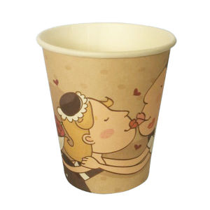 Customerized 7oz Paper Disposable Cup for Vending pictures & photos