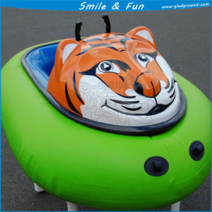 One Battery 12V 33ah Powered for 1-2 Persons, FRP Body + PVC Tarpaulin Tube Inflatable Bumper Boat pictures & photos