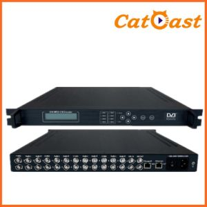 8 Channels SD MPEG-2 IP Encoder with IP Output pictures & photos