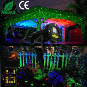 Outdoor Red Green Christmas Decoration Star Projector Laser Light pictures & photos