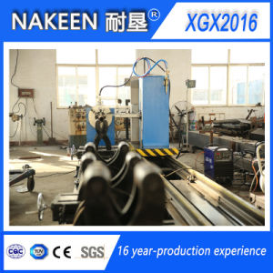 Auto CNC Steel Pipe Cutting Machine with Bevel pictures & photos