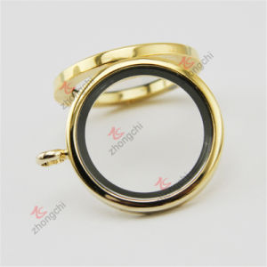 Wholesale 30mm Memory Floating Silver Plain Glass Lockets for Necklace (FL29) pictures & photos