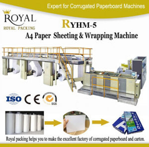 High Speed Full Automatic A4 Paper Production Line, A4 Paper Cutting and Packaging Machine pictures & photos