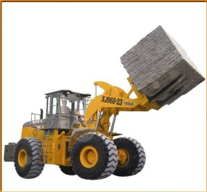 Granite Block Handler in Brazil Quarry pictures & photos