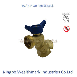 "Qtr-Trn 1/2"" Fip Sillcock Brass Valve of Ball Type pictures & photos"