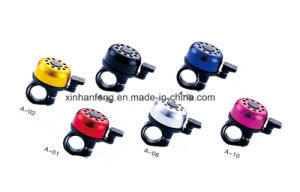 Alloy Bicycle Mini Bell with Plastic Lever (HEL-210) pictures & photos