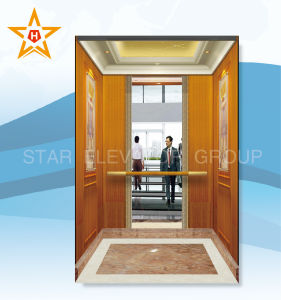 Business Commercial Elevator for 450-1600kg Passenger Load