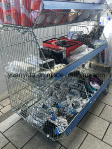 Zinc Plated Supermarket Display Baskets pictures & photos