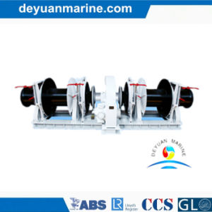 Marine Double Drum Electric Anchor Windlass Winches for Boat pictures & photos