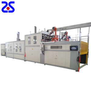 Zs-1816 Thick Sheet Automatic Vacuum Forming Machine pictures & photos