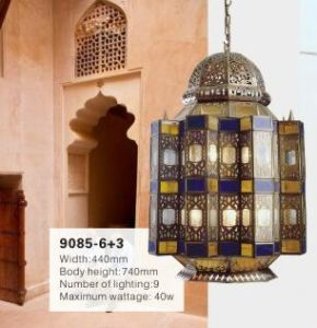 Church Brass Chandelier Pendant Light (KA9085-6+3) pictures & photos