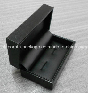 Black Cheap Packaging Cufflink Gift Box pictures & photos