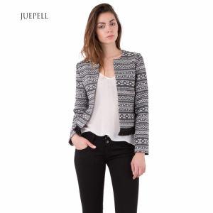 Jacquard Fringe Fashion Jacket Women Coat pictures & photos