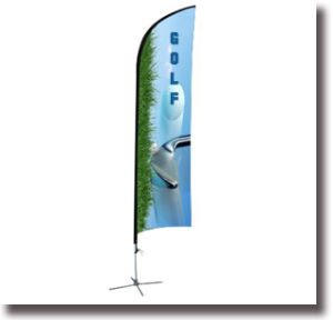 Outdoor Polyester Advertising Feather Banner pictures & photos