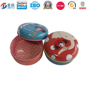 Metal Box Tin Packaging Box Custom Design Chocolate Can pictures & photos