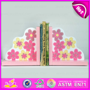 2015 New Fancy Wooden Bookend, Sujetalibros, Wooden Bookend for Students W08d054 pictures & photos