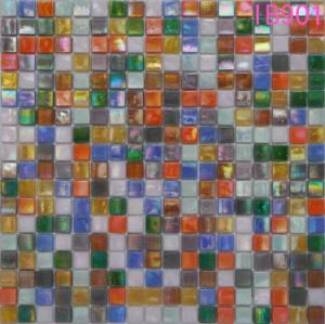 Glass Mosaic Tile Iridium Mixture pictures & photos