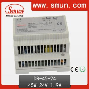 DIN Rail Switching Power Supply 45W Single Output 24V1.9A pictures & photos