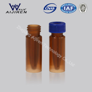 Amber 0.3ml PP Vial with Insert Screw Thread Micro Vial pictures & photos