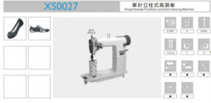 Xs0027 Single Needle Postbed Lockstitch Sewing Machine pictures & photos