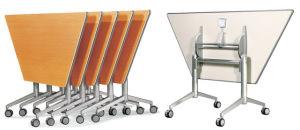 Custom Made Folding Office Training Table, Aluminum MDF Top Desks pictures & photos